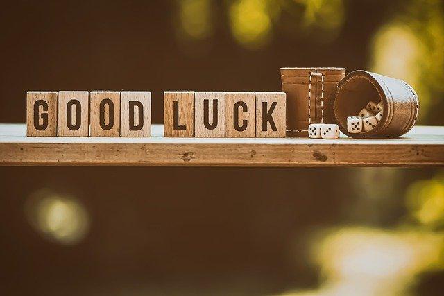 행운 good luck