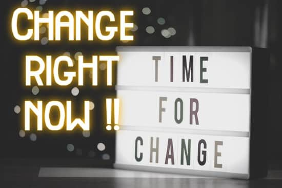 change life 변화