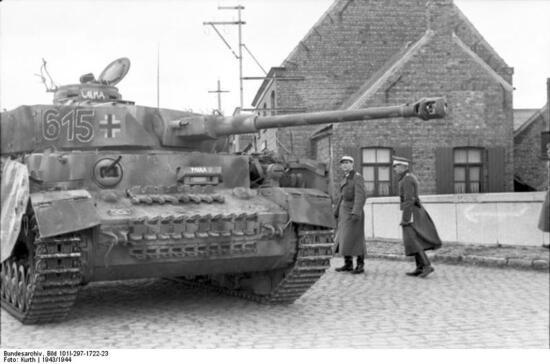 Im Westen, Panzer IV